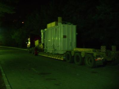 Транспортировка транфорсматора по г. Брянск